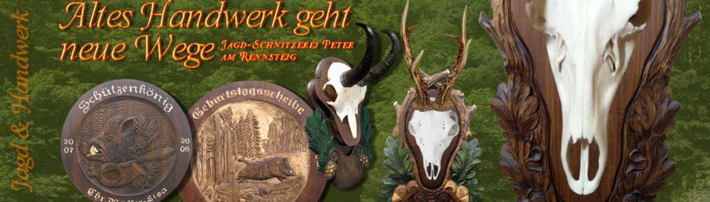 Jagd-Schnitzerei Peter am Rennsteig