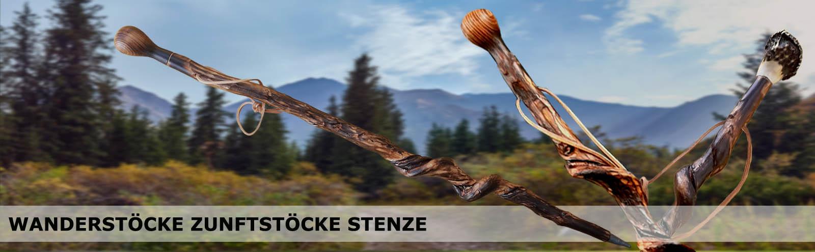 Wanderstöcke_Zunftstöcke_Stenze